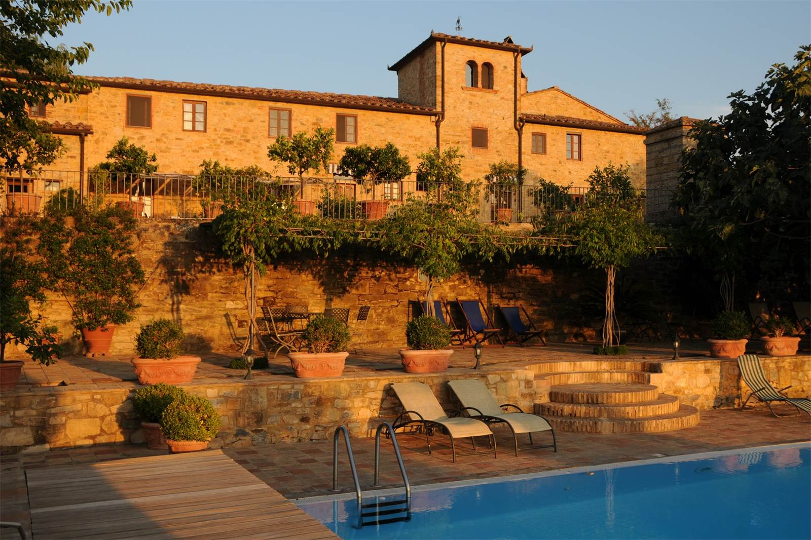 Lovely villa with vineyards in the Chianti Classico